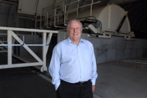 Photo: Richgro Managing Director Geoff Richards at the company's Jandakot site